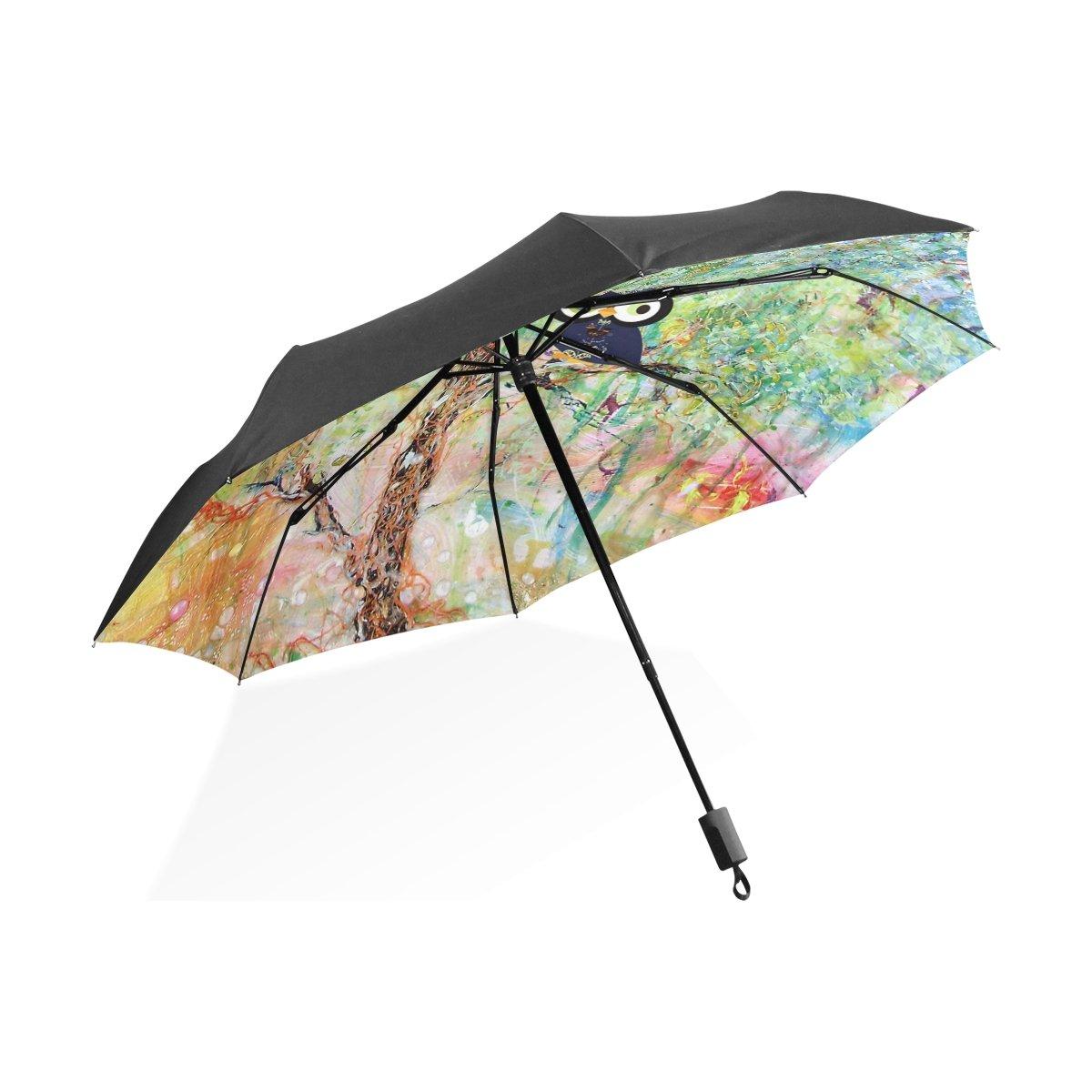 leisisiポータブルコンパクト折りたたみ傘防風UV保護傘 B076J8X5Y8 Umbrella-3 Umbrella-3