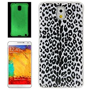 Leopard Fluorescent Pattern Case Cover Effect Plastic Carcasa Para Samsung Galaxy Note 3 N9000