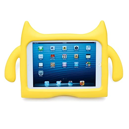 Amazon.com: Ndevr iPadding mini Kids Friendly Children Safe Protective Safe Eva Foam Shock Proof Adjustable Angle Stand Case Cover for iPad mini/mini ...