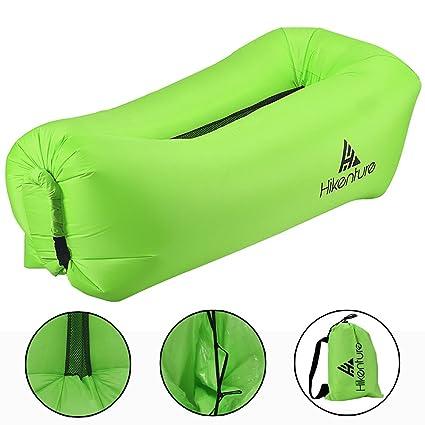 Inflable aire tumbona por hikenture, portátil impermeable inflable sofá, aire tumbona inflable sofá con