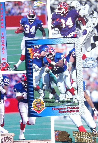 Thurman Thomas 20-card set with 2-piece acrylic case [Misc.]