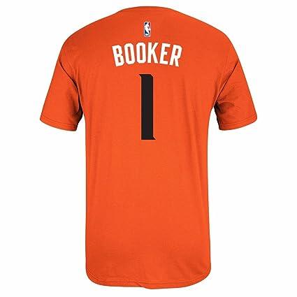 Adidas Devin reservante Phoenix Suns NBA Naranja Nombre y número Jugador Equipo de Jersey Color Camiseta