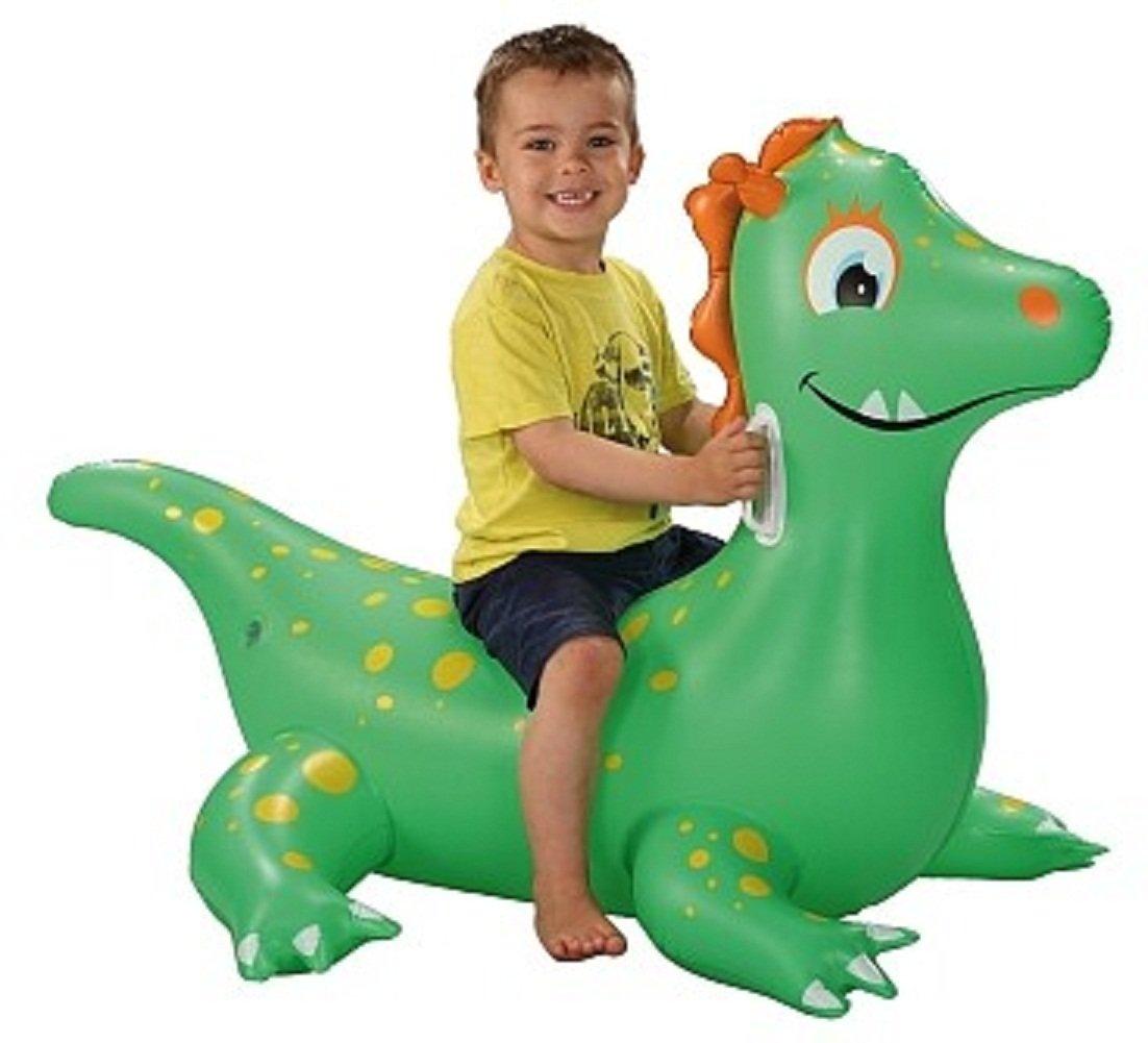 Flotador hinchable en forma de dragón con dos asas. Dimensiones ...