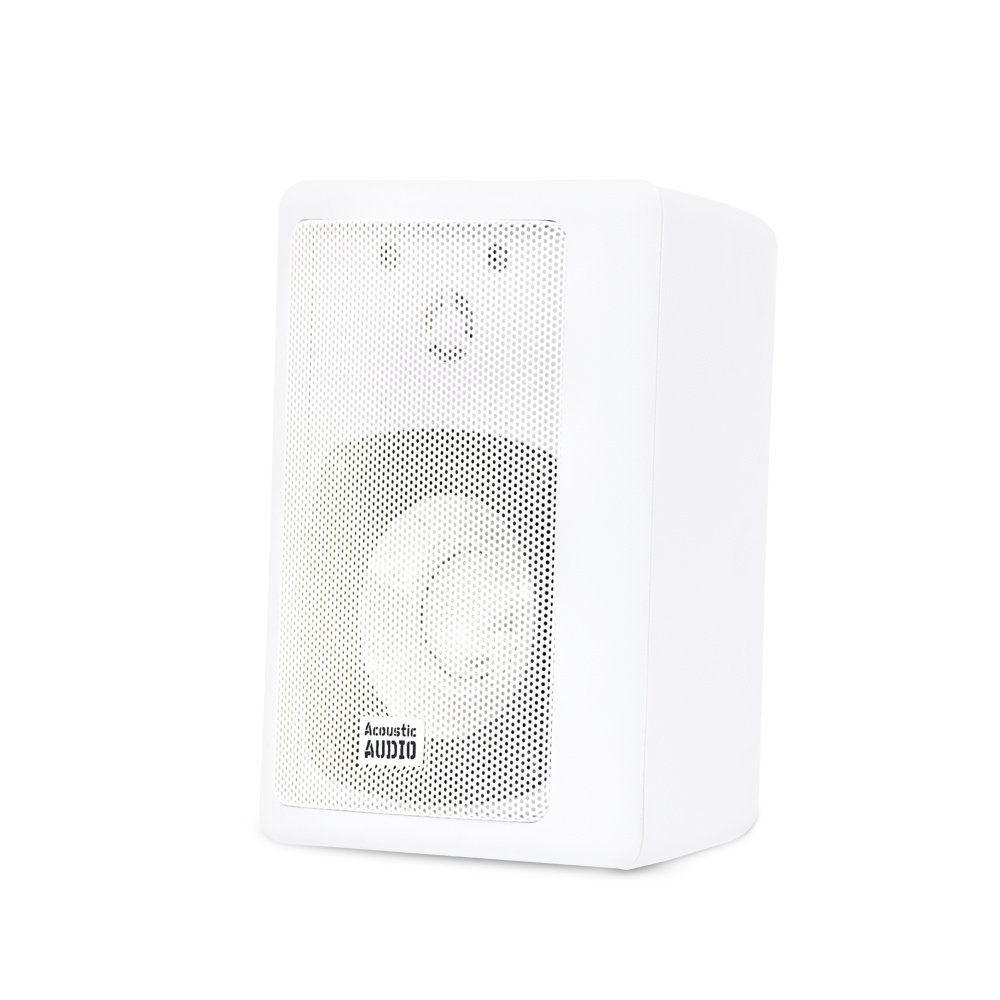Amazon.com: Acoustic Audio 151W Indoor/Outdoor Speakers (White, 2 ...