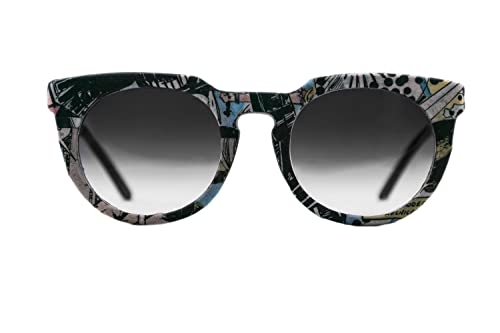 Paper and Paper Eyewear Pichi Out Comic, Gafas de Sol para Mujer, Multicolor / Gris, 50