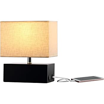 Hompen Table Lamp Grace Bedside Lamp With Usb Charging