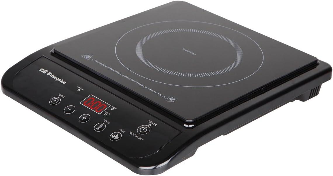 Orbegozo PI4750 PI 4750-Placa de inducción, 10 Niveles de Temperatura, 2000 W, Negro: Amazon.es: Hogar