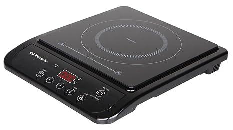 Orbegozo PI 4750 4750-Placa de inducción, 10 Niveles de Temperatura, 2000 W, Negro
