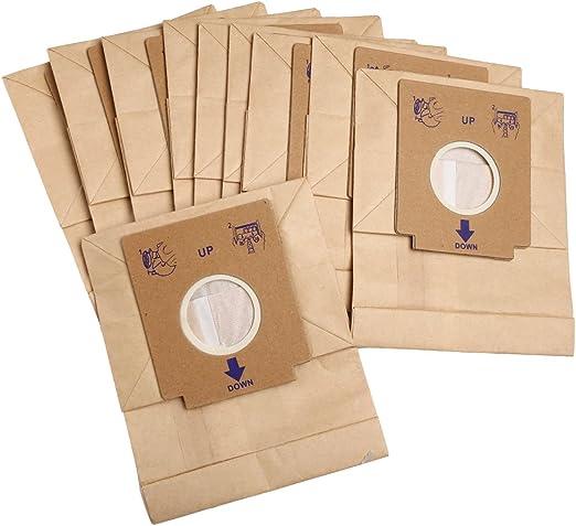 10pcs desechables Kraft papel de filtro bolsa de polvo para ...