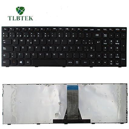 TLBTEK Tablet Teclado Español Qwerty para Lenovo g50-70 B50-30 B50-45