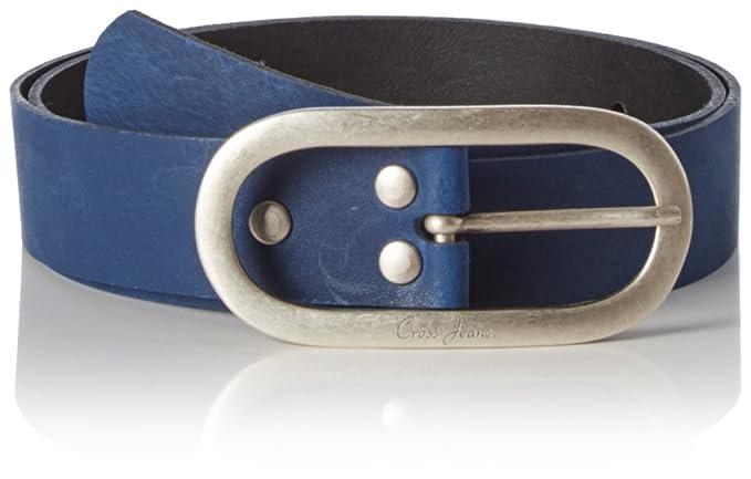 Cross Jeans, Ceinture Femme, Blau (Blue 527), 100 Cm (taille ... a49bbb32755