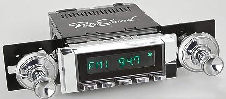 Amazon com: Retro Manufacturing Long Beach Radio with Black