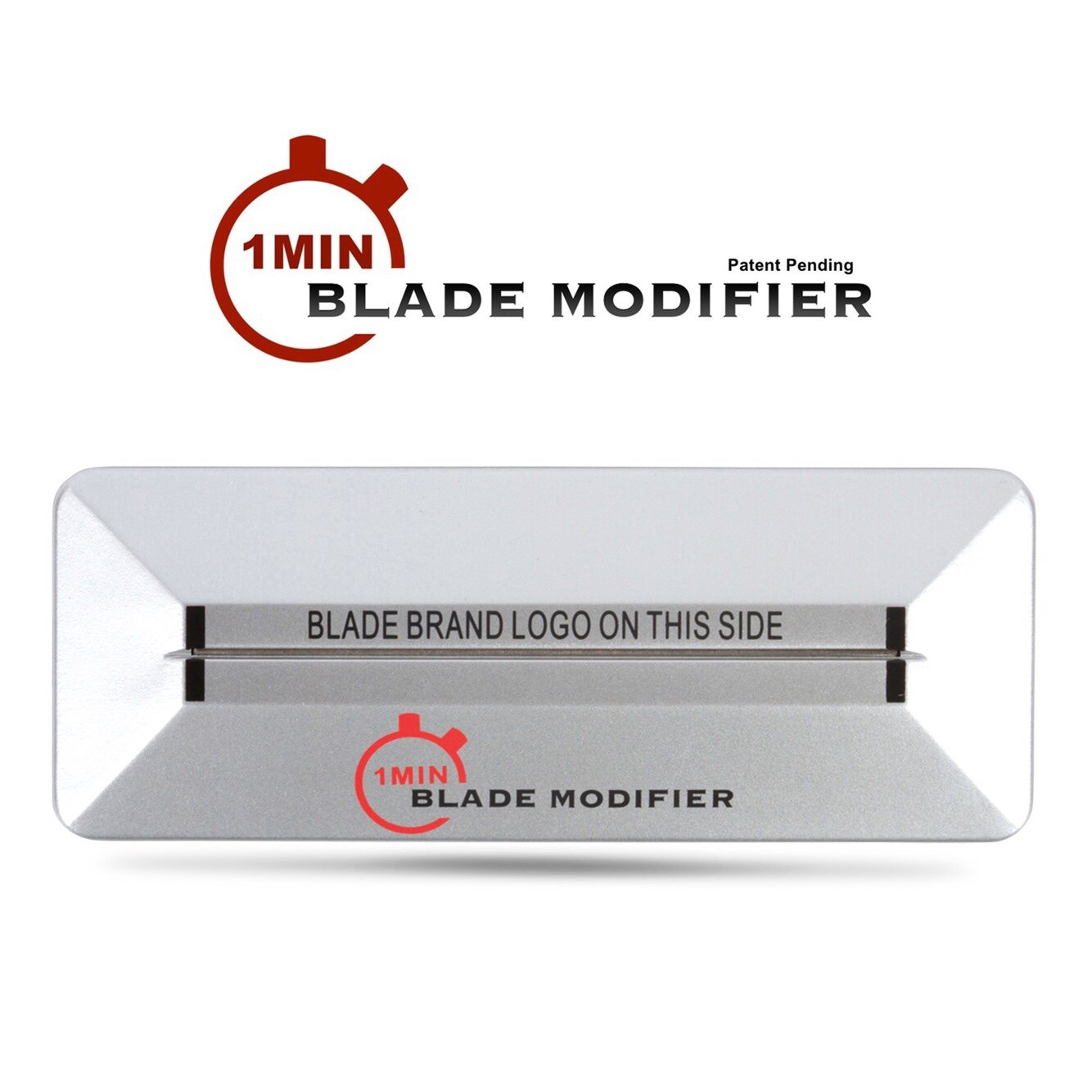 1Min Blade Modifier by The Rich Barber | 1 Minute Trimmer Sharpener Tool for Andis, Wahl, Oster, BaByliss Trimmer Blades & More