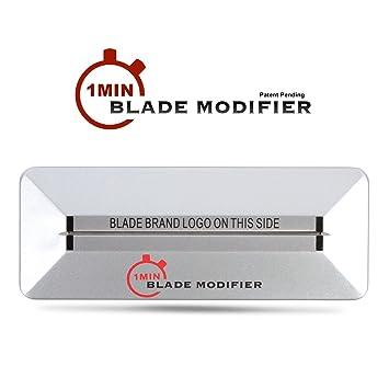 amazon com 1min blade modifier by the rich barber 1 minute