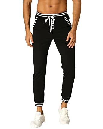 7f50f369fb870 MODCHOK Hombre Pantalones Largos Chándal Cargo Jogging Chino Deportivos  Casual Algodón  Amazon.es  Ropa y accesorios