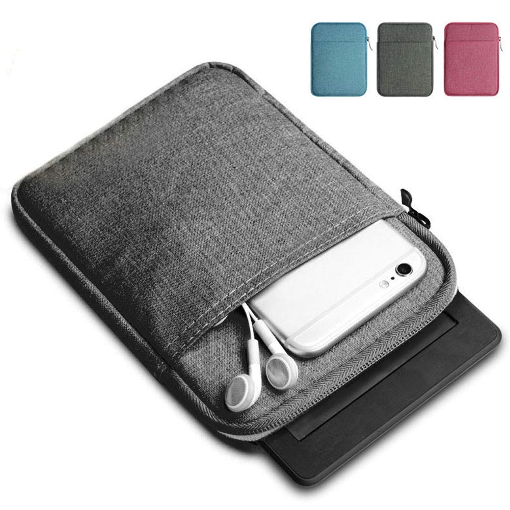 KV E-Reader Dark Gray Cover for Kindle Paperwhite 958 Kindle Voyage 558 6-inch Kindle Sleeve Canvas Case /…