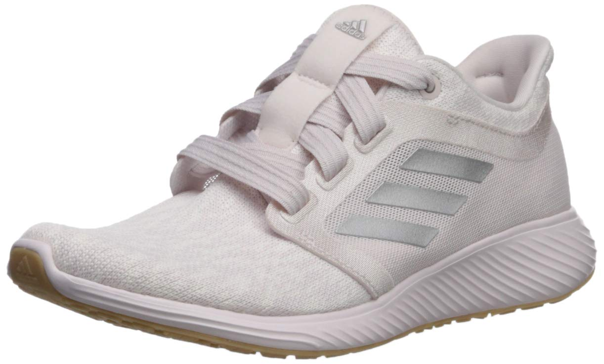 adidas Women's Edge Lux 3, Orchid Tint/Cloud White/Silver Metallic 6 M US