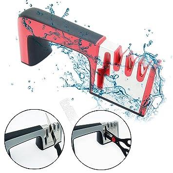 AOLVO - Afilador de cuchillos y tijeras multiusos manual ...