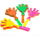 Plastic Hand Clappers, pack of 12