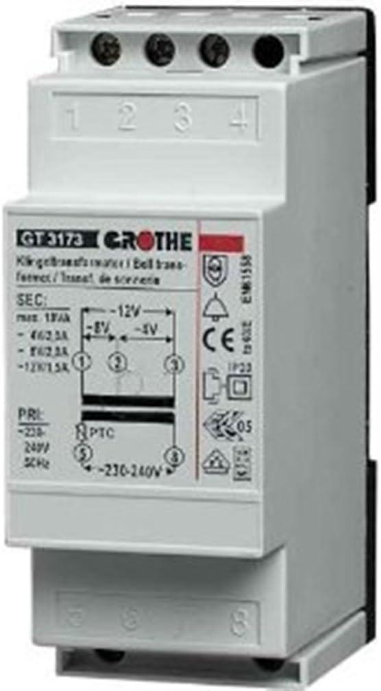 Grothe GT3173 Transformateur pour sonnette Import Allemagne