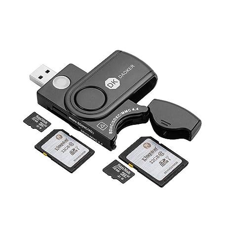 Lector de Tarjetas de Memoria USB 3.0 con Cubierta de ...
