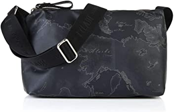 2c3a7c6d42 Small Cross Body bag Alviero Martini 1^ Classe Geo Soft Black 25x17 x 8,