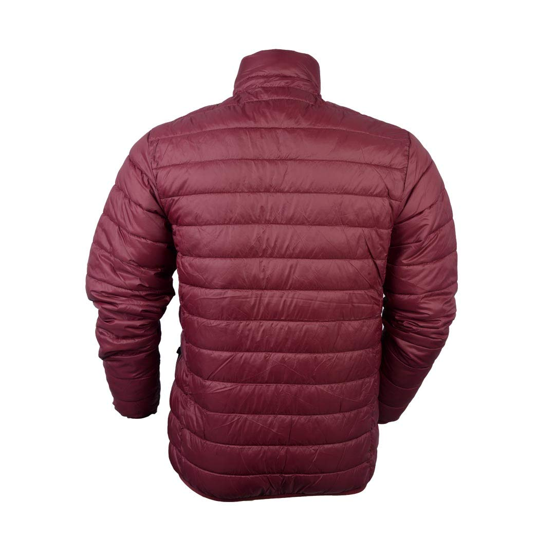Amazon.com: Hawke & Co Mens Poly Packable Puffer Jacket ...