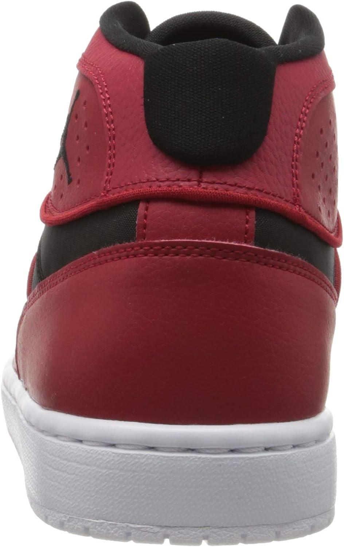 Nike Jordan Access, Chaussure de Course Homme Gym Red Black White