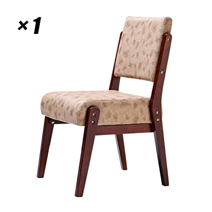 Amazon.com - Wooden Office Chair Simple Modern Dining Chairs ...