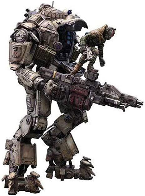 Game TITANFALL ATLAS Armor Action Figurine Collection Statue Model Toys PVC
