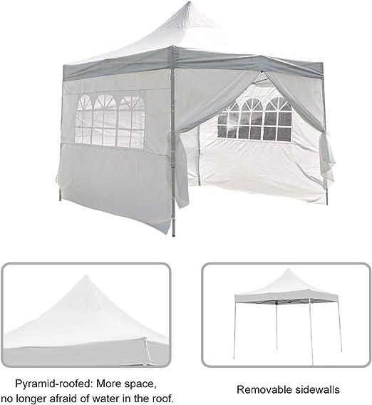 Ez Pop Up Canopy Party Tent Gazebo