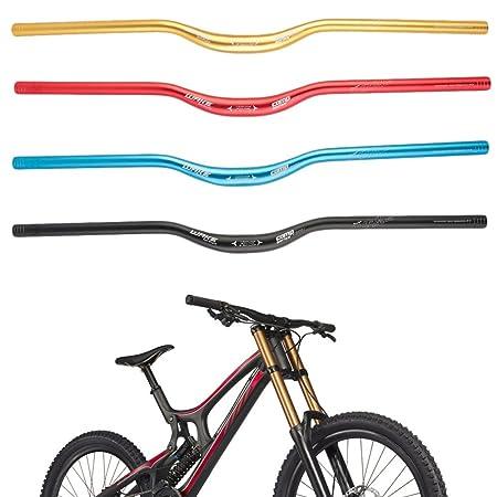 720mm x 31.8mm Riser Raised Handlebars Mountain Bike MTB Bicycle Black