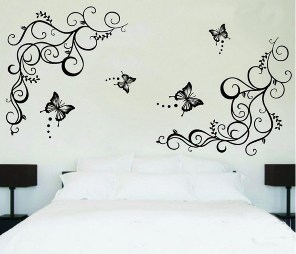 Buy Decals Design Lovely Butterflies Wall Sticker PVC Vinyl 60