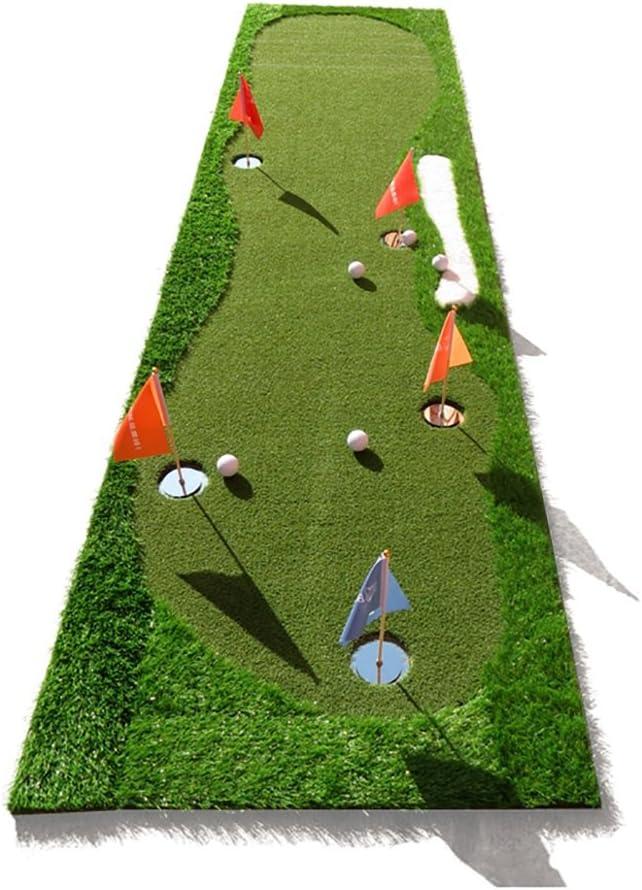 WJ ゴルフマット- ゴルフ屋内練習マットパットプラクティスマット2色オプション /-/ (Color : 1#) 1#