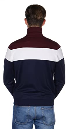 Fred Perry Colour Block Track Chaqueta de deporte carbon blue