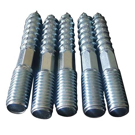 Souarts M8 - Tornillos de doble rosca de acero inoxidable ...