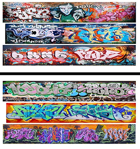 Decal Hopper (HO Scale Graffiti Waterslide Decals 2-Pack #18 - Weather Your Box Cars, Hoppers, & Gondolas!)