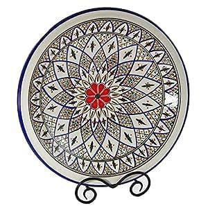 Le Souk Ceramique Large Serving Bowl, Tabarka Design
