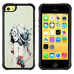 Jordan Colourful Shop@ W0nder Woman Sexy Superhero Rugged hybrid Protection Impact Case Cover For iphone 5C CASE Cover ,iphone 5C case,iphone5C cover ,Cases for iphone 5C