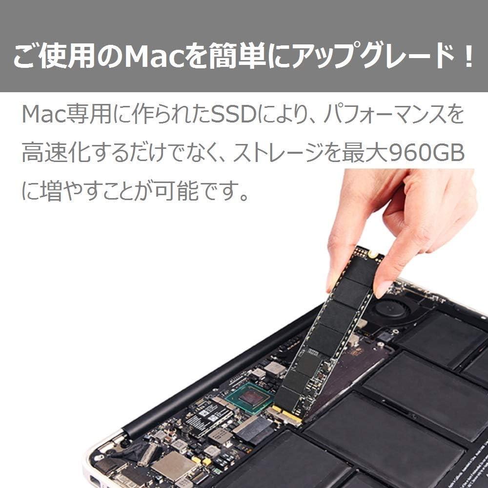 Transcend JetDrive 850 Interno SSD 240 GB para Macbook PCIexpress ...