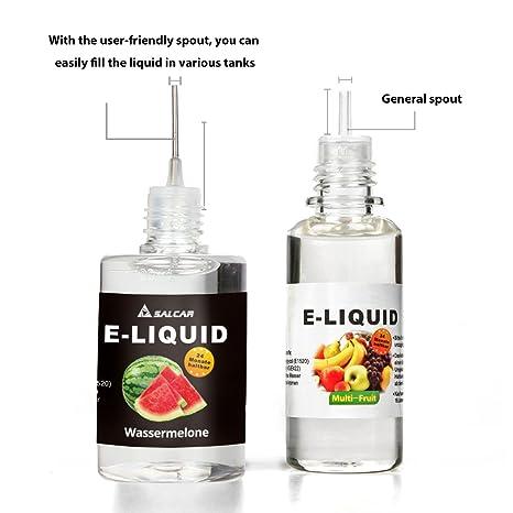 Salcar® 10x10ml Set E-Líquido para cigarrillos electrónicos, e ...
