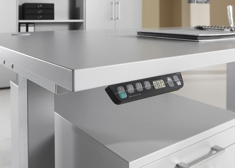Beautiful Bümö ® Ergonomic Height Adjustable Desk Electric Adjustable Electric Office  Table Office Desk With Memory Function In Rechteck: 120x80 Cm Grey: ...