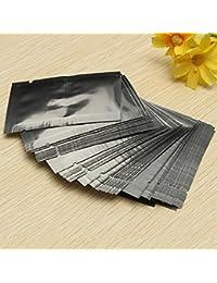 Get 100pcs Silver Aluminum Foil Mylar Vacuum Bags Package Food dispense