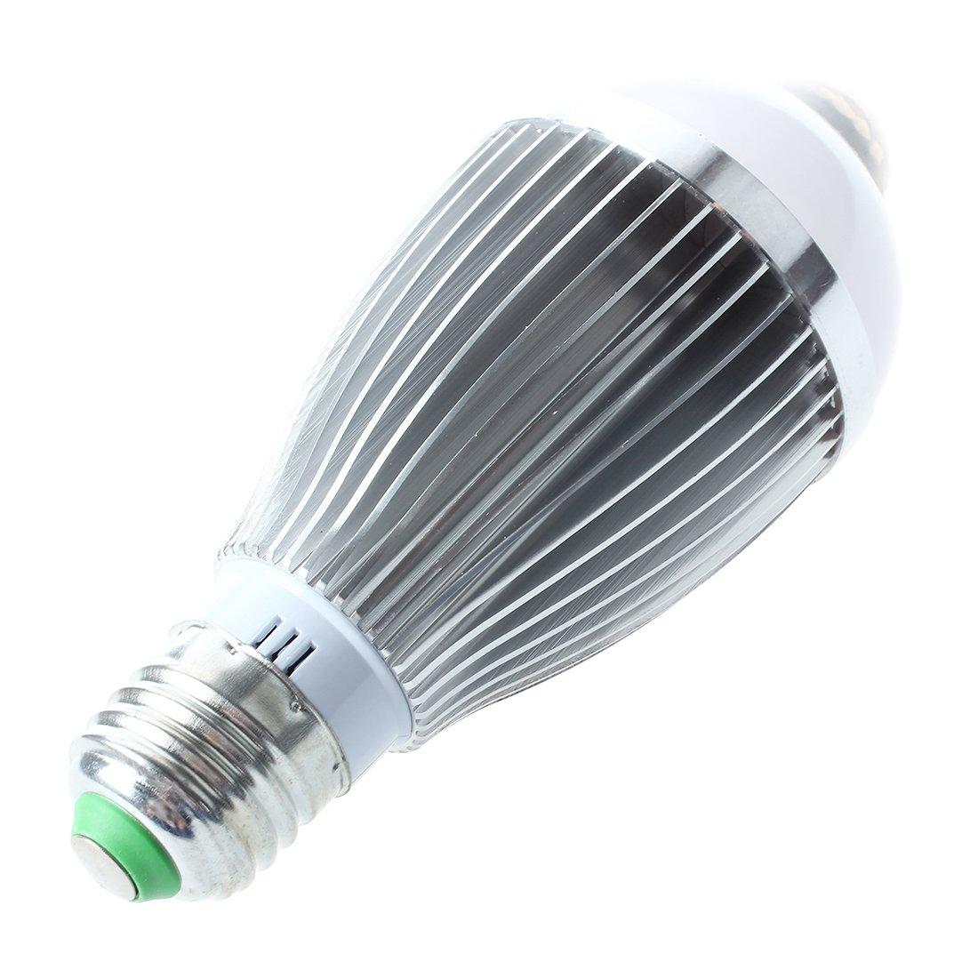 SODIAL(R) E27 IR Sensor A Movimiento Bombilla 6 LED 6W 600LM Blanco Lmpara Luz: Amazon.es: Hogar