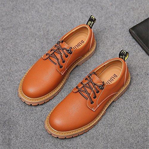 PU PU PU Il Uomo Casual ZX per per per per Pelle Orange Pelle Oxford Scarpe da in Uomo per Scarpe Stile Casual in Tempo Libero FFaPxXwq