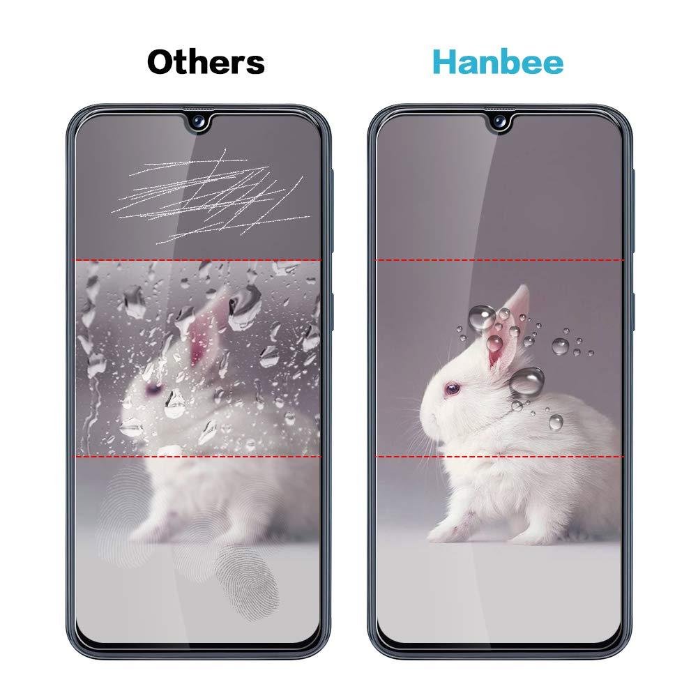 Hanbee Protector Pantalla Xiaomi Mi A2 Lite Dureza 9H 3 Unidades Cristal Vidrio Templado Protector Pantalla Xiaomi Mi A2 Lite Transparente Cristal Templado Xiaomi Mi A2 Lite Alta Definicion