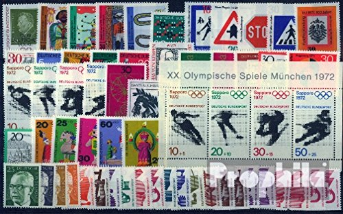 FRD (FR.Germany) 1971 with 695, 696, 698 and 699 C and D BRD unmounted Mint/Never hinged 1971 with C/D-Values (Stamps for Collectors) ()