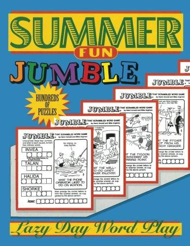 (Summer Fun Jumble®: Lazy Day Word Play)