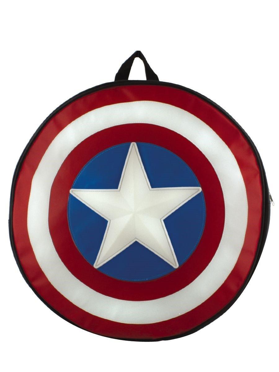 Marvel, Zaino a Forma di Captain America CODI LUAMERCSB001