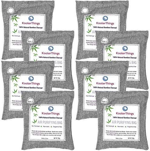 Kooler Charcoal Purifying Fresheners Eliminators